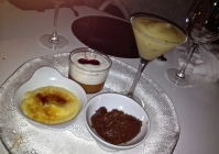Dessert in Sevilla.
