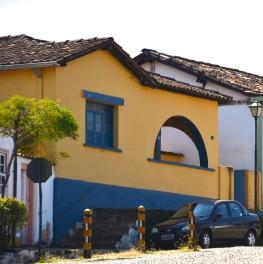 House in Pirenopolis, Brazil.