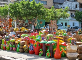 Ceramic crafts. Fortaleza, Brazil.