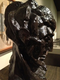 """""""Head of a Woman"""" by Pablo Picasso (LACMA, Los Angeles)"""