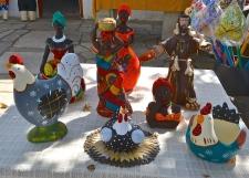 Crafts from Pirenopolis, Brazil.
