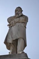 Statue in Venice, Italy.