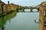 Arno River, Florence, Italy.