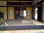 Tea Room at the Japanese Garden. Huntington Gardens, Los Angeles, CA.