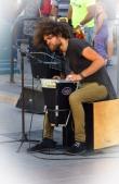 Fantastic percussionist.