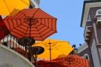 Several shades of orange, Beverly Hills, CA.