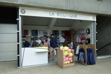 La Boutique.