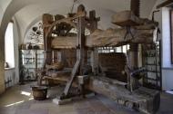 Huge old wine presser.