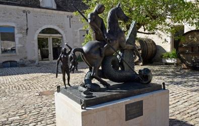 """Salvador Dali's """"St. Georges terrassant le dragon."""""""