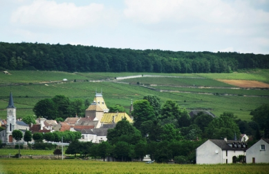 Traveling to Vougeot.