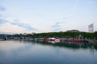 La Rhône, Lyon, FR.