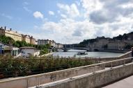 La Saône, Lyon, FR.