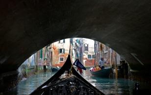 Gondolas. Venice, Italy.