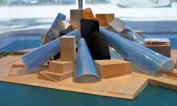 Guggenheim Museum Abu Dhabi model.