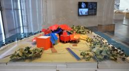 Biodiversity Museum model, Panama