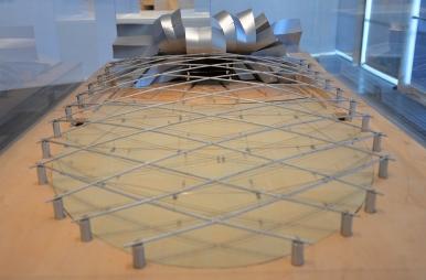 Jay Pritzker Pavilion model.