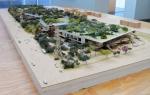 Facebook Headquarters model, CA