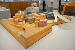 Guggenheim Museum, model, Bilbao, Spain.