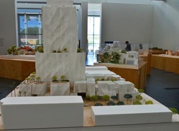 Sunset Boulevard Buildings model, LA, CA