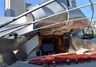 Jay Pritzker Pavilion, Millennium Park, Chicago. Photo A. Furtado