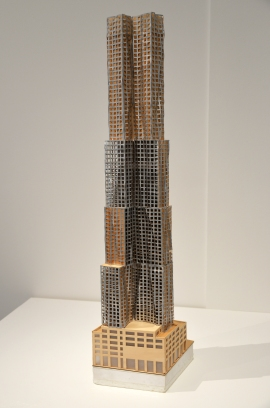 The Spruce Building model, New York, NY