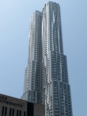 Spruce building, New York, NY. Photo by A. Furtado