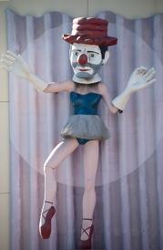 Ballerina Clown. CVS building, Venice Beach, CA.
