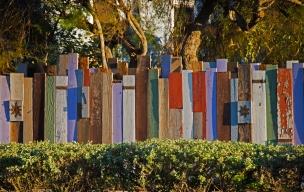 This is no ordinary fence. Venice Beach, CA.