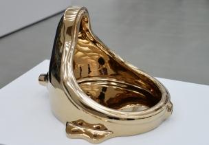 """Fountain (Buddha)."" Sherrie Levine's homage o Marcel Duchamp"