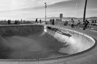 Skateboarding by the ocean...
