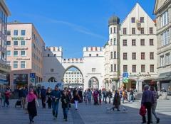 Neuhauserstrass. Central Munich.