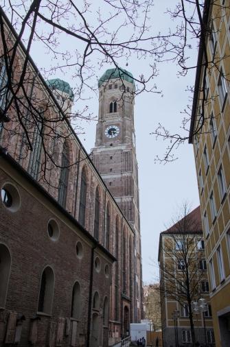 Central Munich. Frauenkirche.