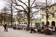 Hofgarten. Central Munich.