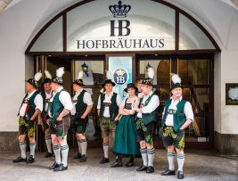Hofbräuhaus. Old Center.