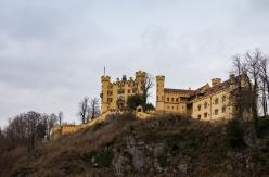 Schloss Hohenschwangau. Childhood residence of King Ludwig II.