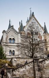 Schloss Neuschwanstein.