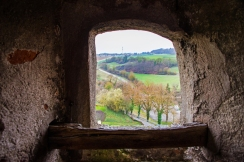 View from Harbug Castle.