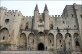 Palais des Papes, Avignon, France.