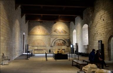 Inside Palais de Papes, Avignon