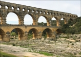 Two-thousand-year-old Pont du Gard.
