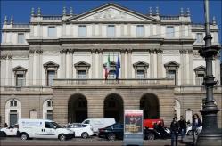 Teatro alla Scala. Milan's Opera House.