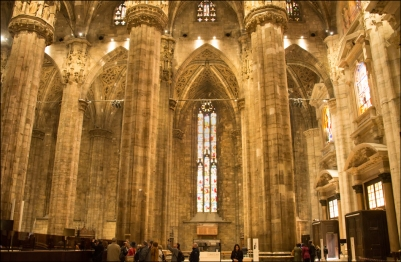 Duomo, interior.
