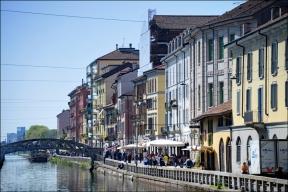 Naviglio, canal.