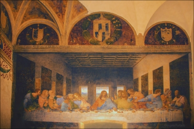 The Last Supper, Milan.