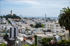 San Francisco (Bay Bridge, Coit Tower).