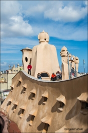 Gaudi's La Pedrera, Barcelona.