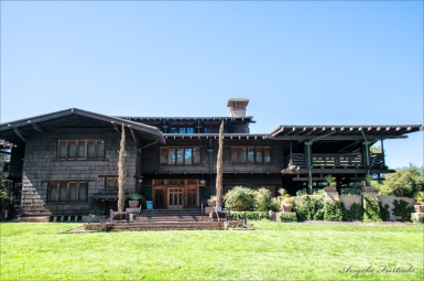 Front view of Gamble House