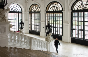 Doors, Belvedere Palace, Vienna.