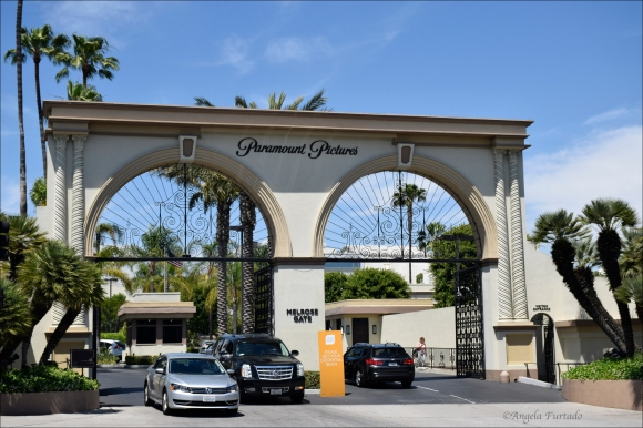 Entrance to Paramount Studios, Los Angeles.