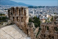The Odeon Theater of Herodes Atticus